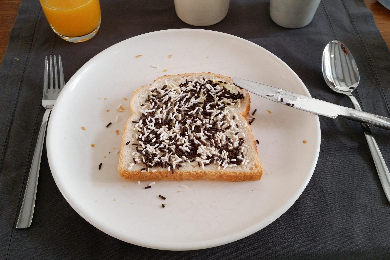 Frühstück in Amsterdam