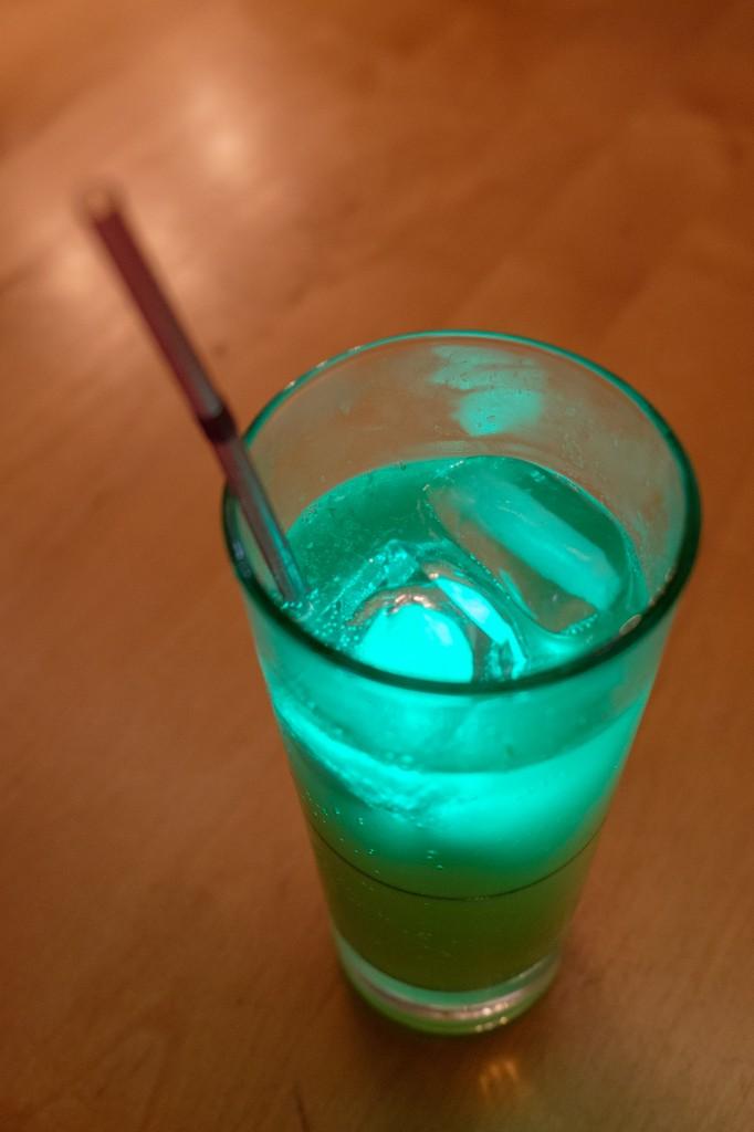 Magisch grünes Getränk