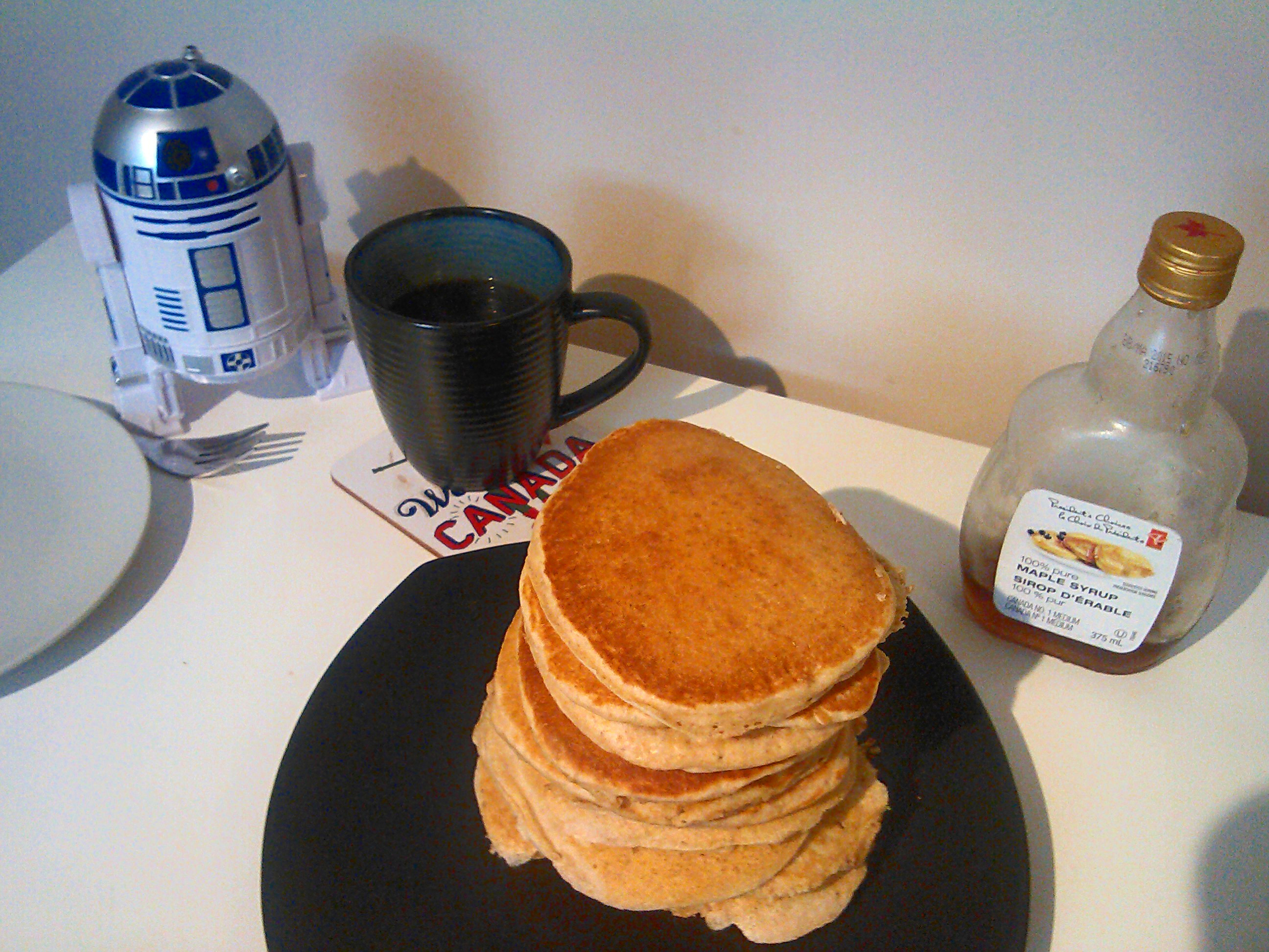 Vollkorn Pancakes