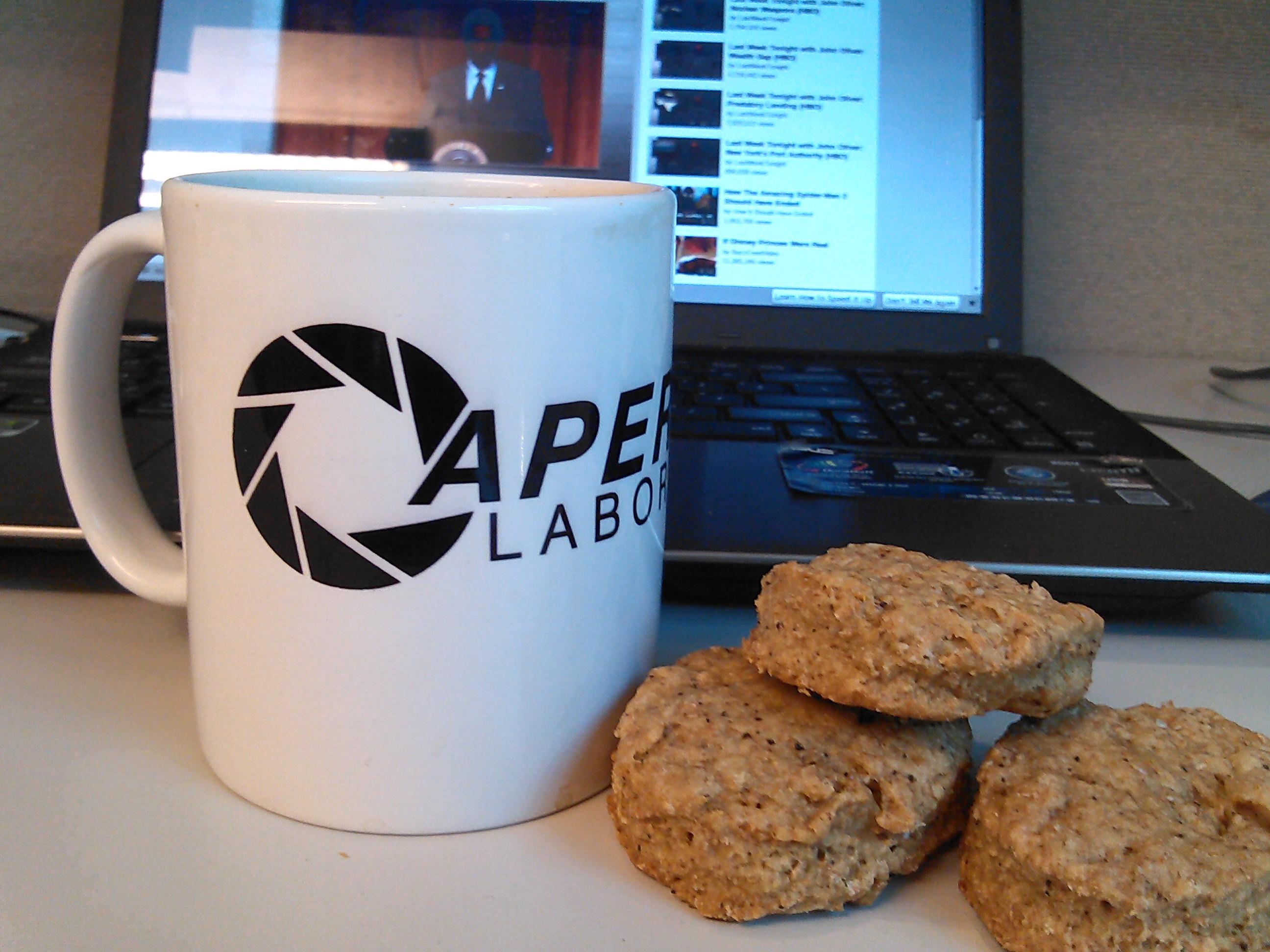 Vollkorn-Kaffee Kekse