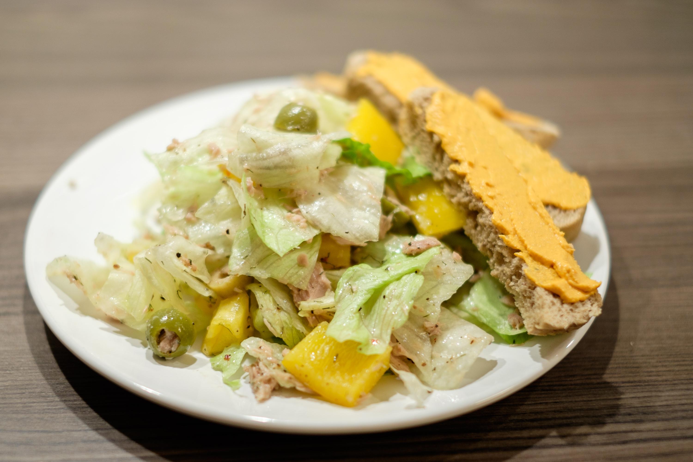 Eisberg-Thunfisch-Salat