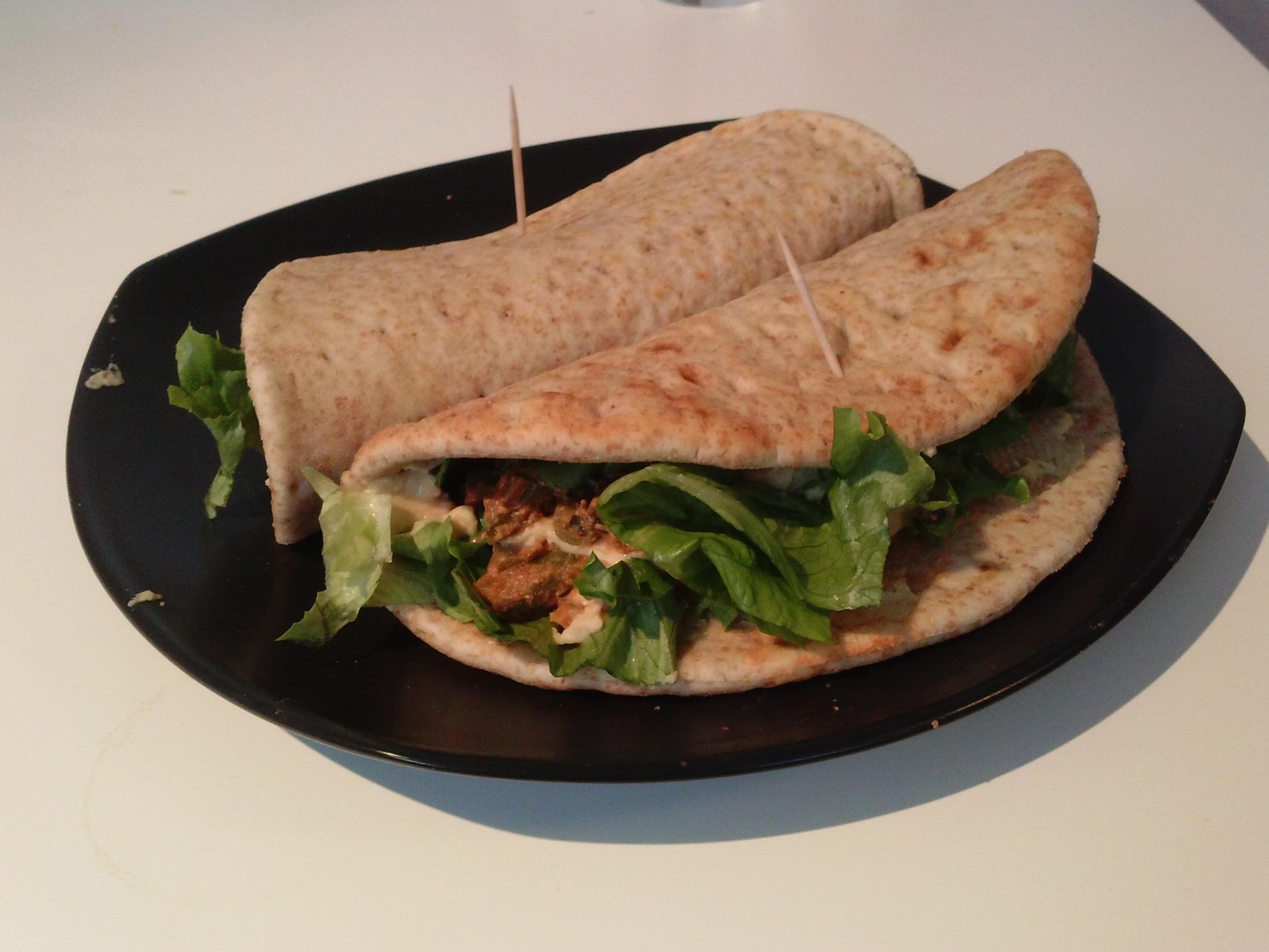 Vegetarische Pita