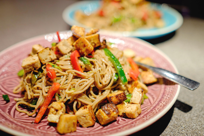 Asiatischer Nudel-Salat