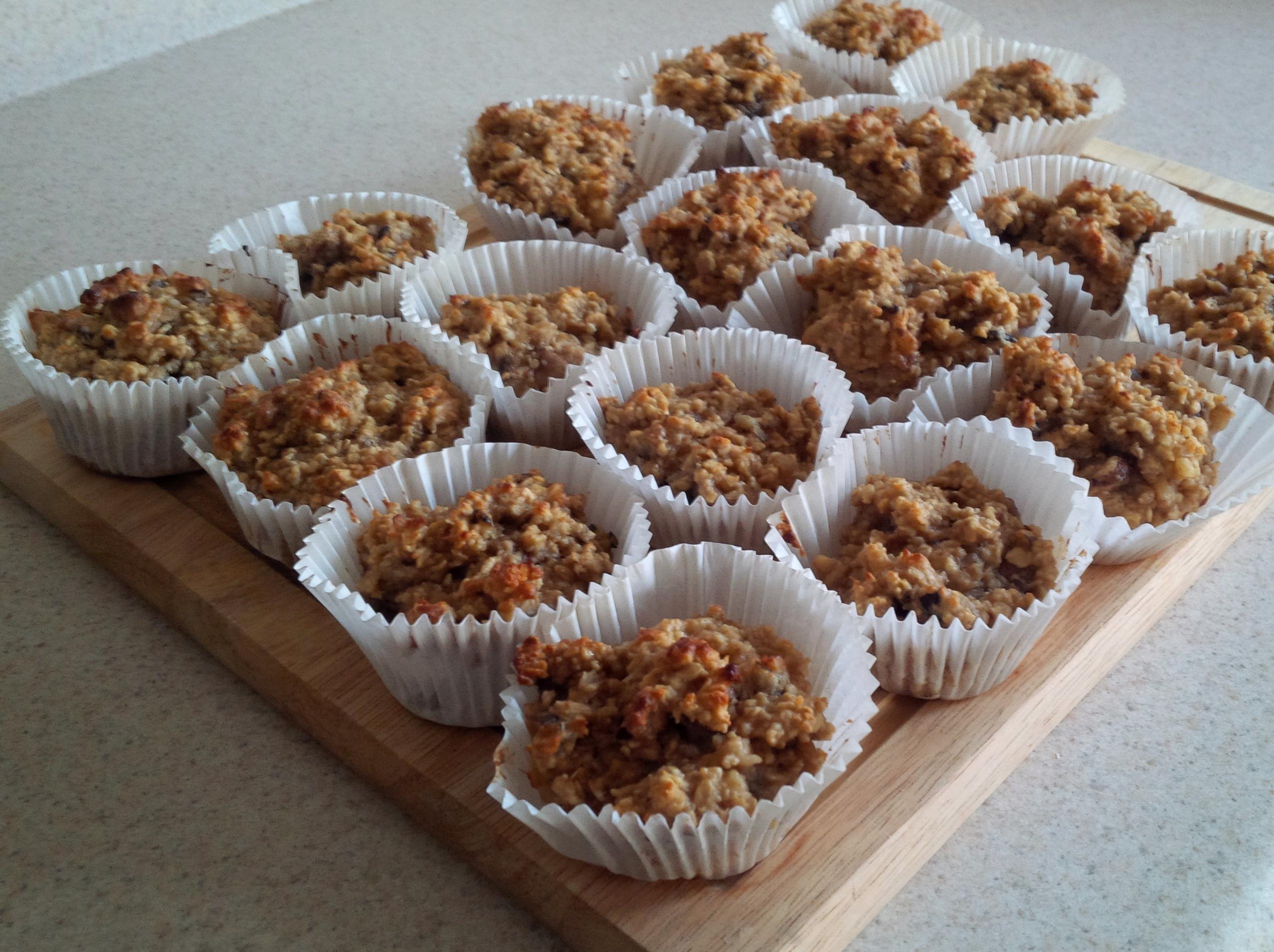 Haferflocken-Muffins