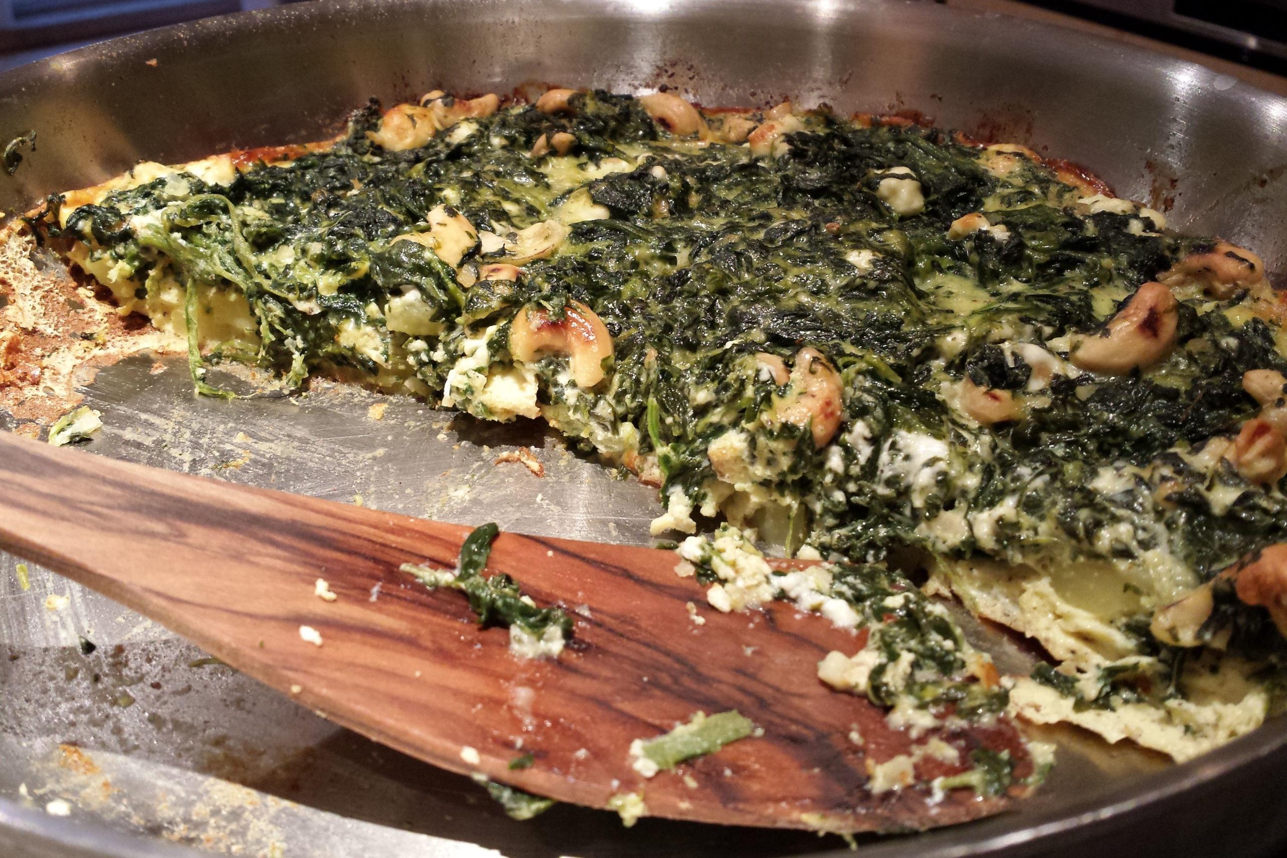 """""""Portugiesische"""" Spinat-Tortilla"""