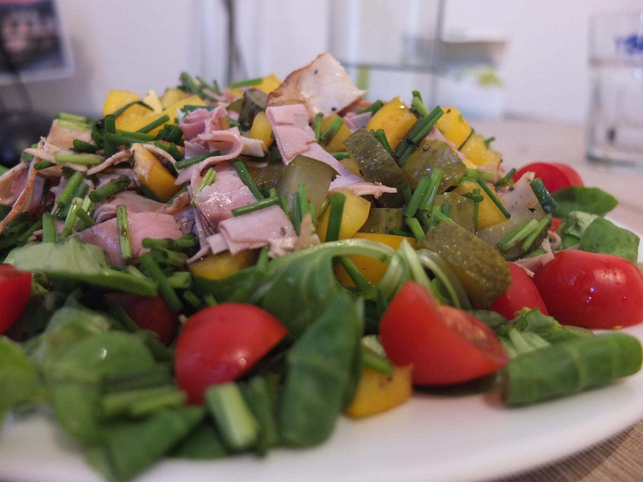 Schinken-Salat
