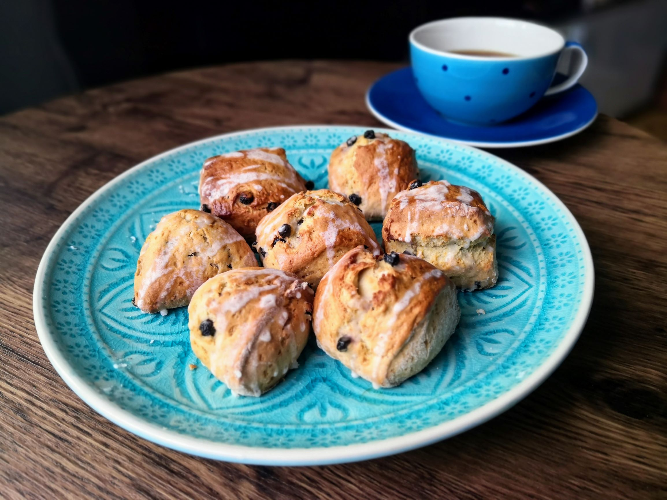 Blueberry-Lemon-Scones