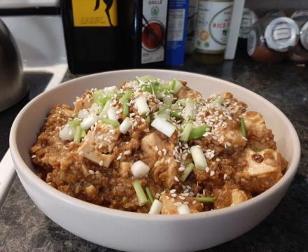Veganes Mapo-Tofu