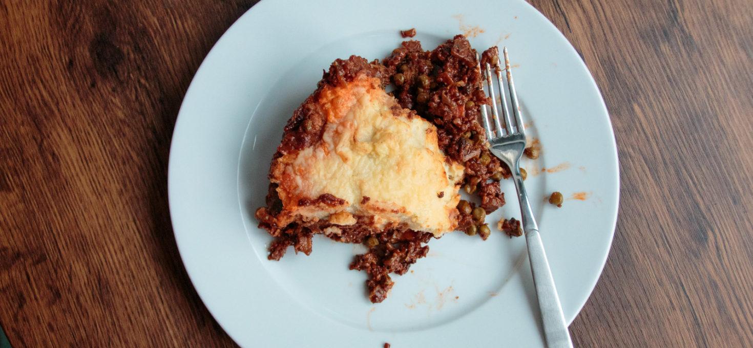 Vegetarischer Shepherd's Pie