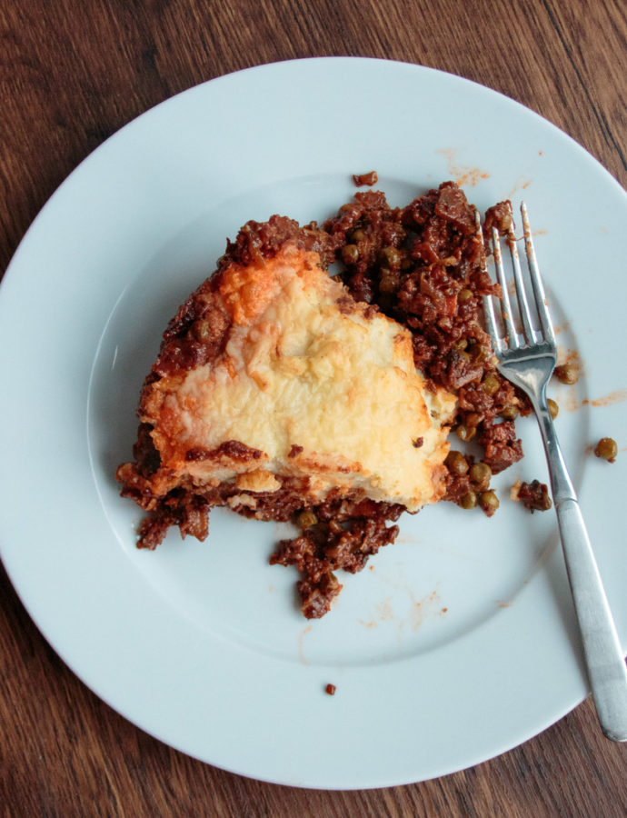 Vegetarischer Shepherd's Pie